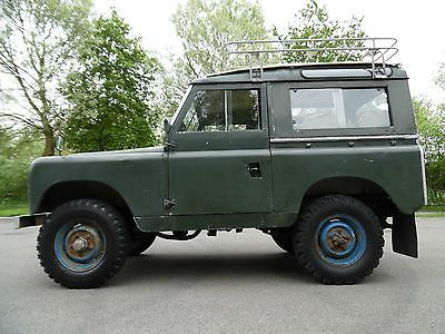 1959 LAND ROVER 88 SERIES 11 STATION WAGON DIESEL, MOT & TAX EXEMPT, NO RESERVE