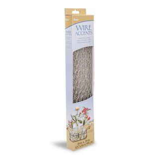 Darice® Wire Accents: Galvanized Craft Chicken Wire Netting