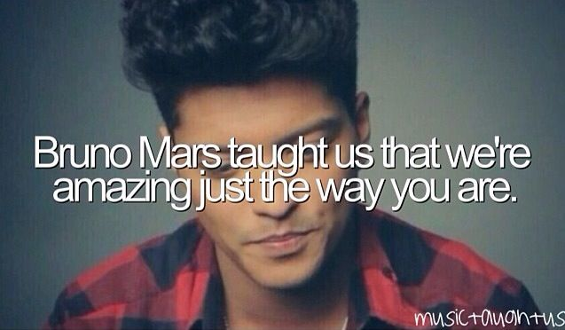 Bruno Mars taught us that we're amazing just the way we are. Check us out for the best deal on Bruno Mars tickets.
