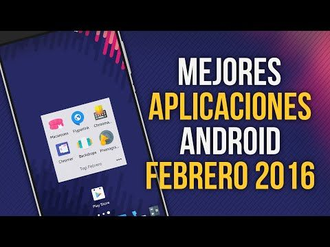 MEJORES APLICACIONES ANDROID - FEBRERO 2016   TOP 6 APPS ANDROID -  Best sound on Amazon: http://www.amazon.com/dp/B015MQEF2K - http://gadgets.tronnixx.com/uncategorized/mejores-aplicaciones-android-febrero-2016-top-6-apps-android/