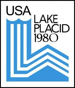 Offcial logo for the 1980 winter Olympic games in Lake Placid