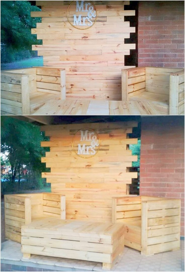 Incredible Wood Backyard Pavilion Design Ideas Outdoor 1: Staggering Incredible Shipping Pallet Projects