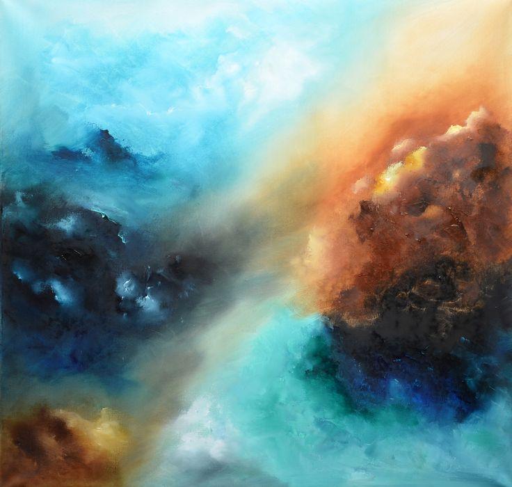 Abstract Painting -Hidden world by Niki Katiki