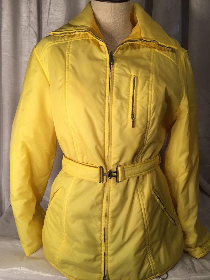 Vintage Womens MAX Lehmingg DER Wintersport SKI Jacket JR Large   eBay
