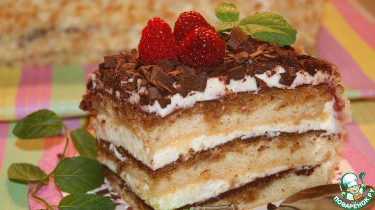Швейцарский торт - очень нежный, влажный, ароматный и безумно вкусный! . Обсуждение на LiveInternet - Российский Сервис Онлайн-Дневников