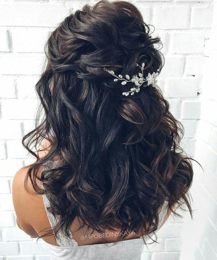 Wedding hairstyle | Half up wedding hair | Wedding hair | Desiree Hartsock