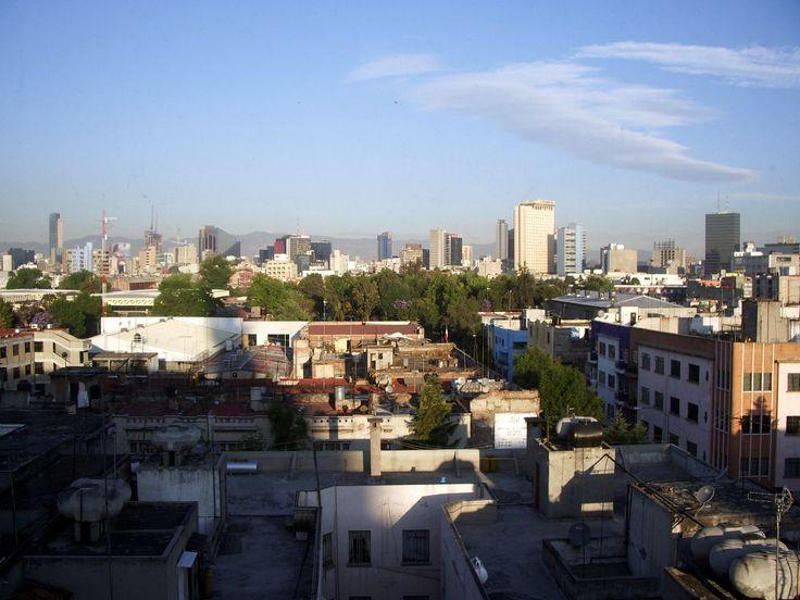 les toits de Mexico