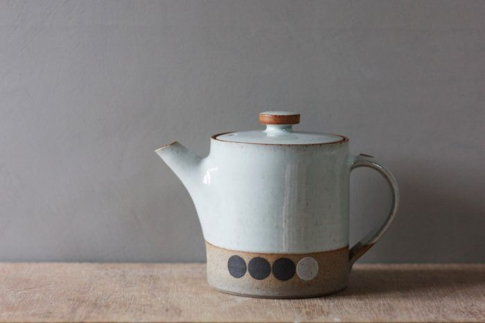 small teapot with circles (#2) - james & tilla waters