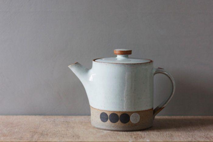 small teapot with circles (#2) - james & tilla waters