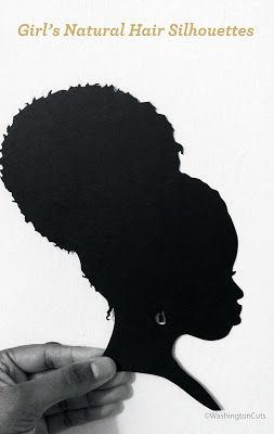 Natural Hair Silhouettes