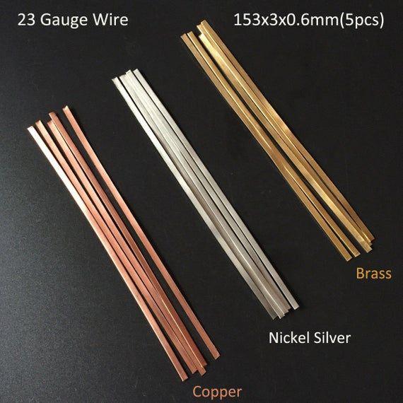 5pcs 153x3x0 6mm Copper Brass Nickel Silver Bezel Strip Etsy In 2020 Inlay Flooring Floor Design Inlay