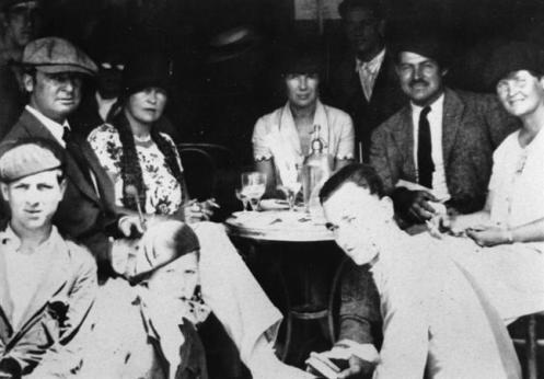 Spain. The Hemingways, the Murphys and Pauline Pfeiffer, San Fermin Festival, Pamplona,  1926
