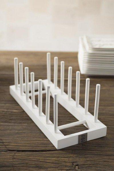 Stojak na talerze Wooden Plate Rack