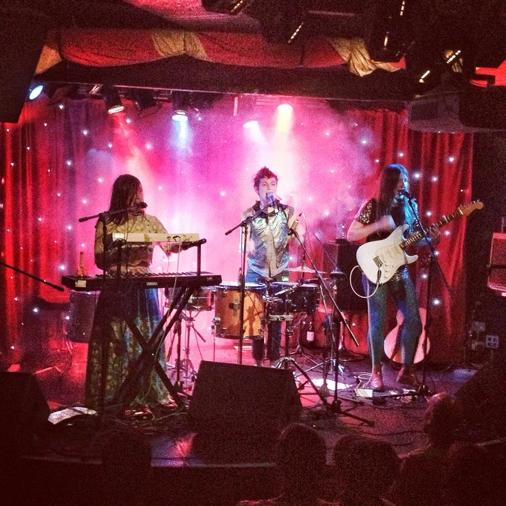 Stealing Sheep! New favourite indie band, great live.