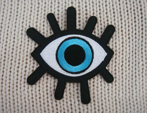 For your creative ideas. Use these patches to decorate clothing for cute, distinctive and unique.    Iron-On to any garment    ** Size **  Height : 3.4