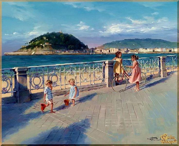 Mediterranean - 136 Средиземноморье, картины, подарки