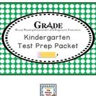 GRADE Kindergarten Test Prep Packet by The Primary Place | Teachers Pay Teachers