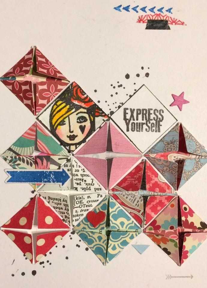 Thanks Anne for this great piece of Artwork you made with our stamps <3