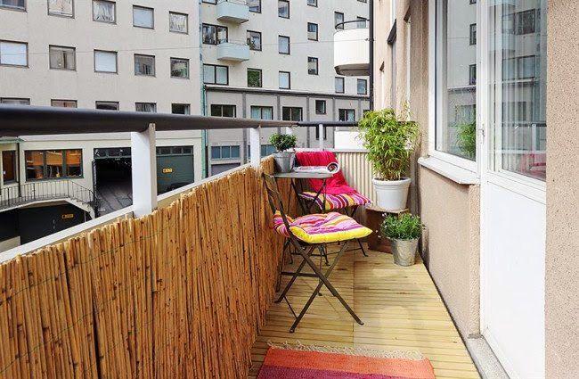30 Ideas para decorar el balcón de tu casa