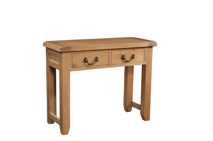 Somerset Console Table offers effortless style and charm. Designed in a classic rustic style this piece would appeal to the more traditional taste. For more details visit http://www.mainlypine.co.uk/details-oak-furniture-somerset-console-table-2-3537-164.html#details