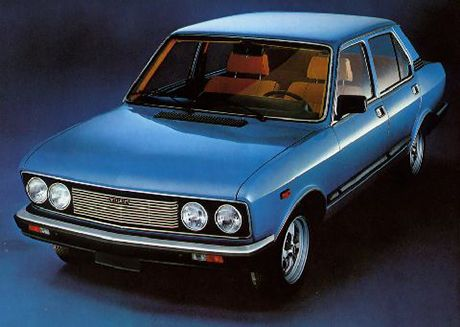 "Fiat 132, my first ""nice"" car."