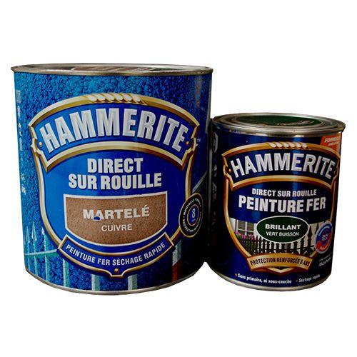 Peinture Fer Hammerite 0,75L et 2,5L