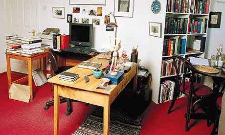 John Banville's study in Dublin