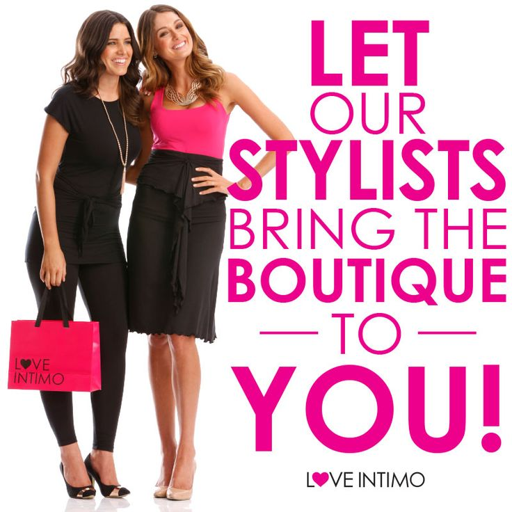 At Intimo, we bring the boutique to you! Contact your Stylist to make a booking today or visit www.intimo.com.au to discover you how you can become a Hostess!