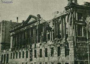 Poznan Poland, Biblioteka Raczyńskich zniszczona po II wojnie światowej