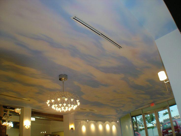 Un cielo al atardecer en Tienda de Decoración