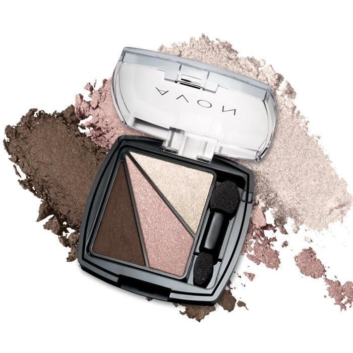 Luminous, pure-color shadows layer and blend to sculpt eyes. Vibrant, silky formula wears for hours without creasing.  @ www.youravon.com/devanko