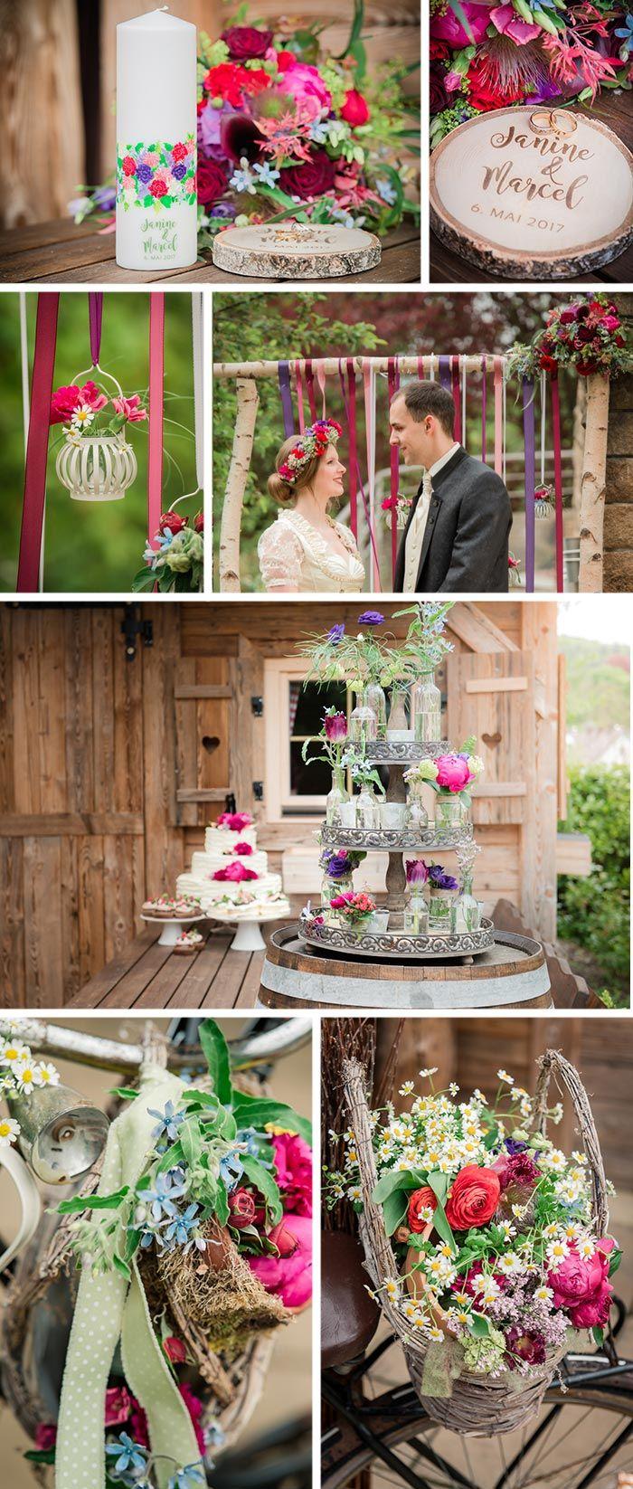 Die Schönsten Ideen Für Eine Hochzeit Auf Der Alm