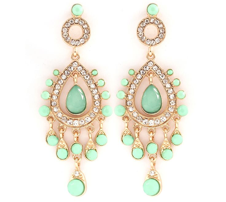 nice earrings, ear rings, teal, green, jewelry, circle and teardrop, accessorize, accessory