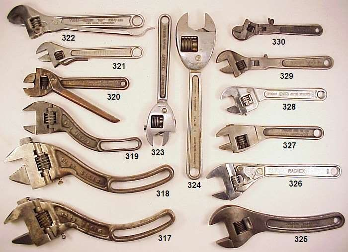 types of wrenches. 2008 don ervin antique wrench auction pics | ИНСТРУМЕНТ- КЛЮЧИ pinterest types of wrenches p
