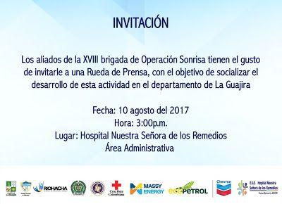 'Operación Sonrisa' se socializa en Riohacha