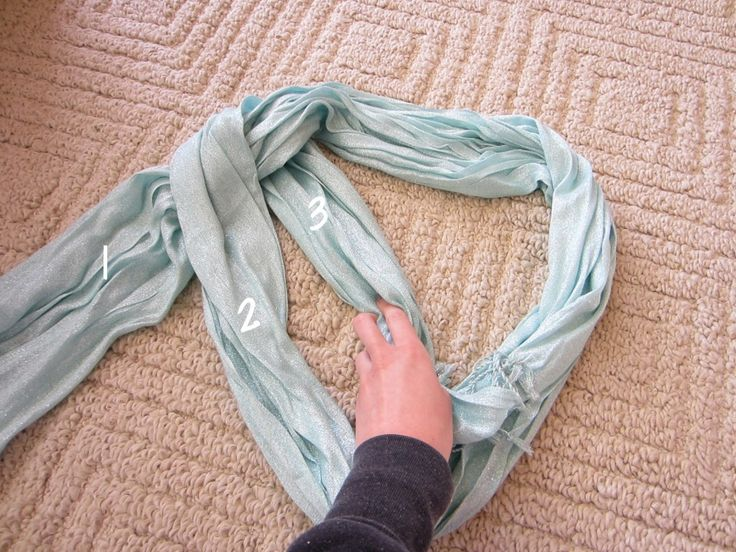 How to Braid Scarf