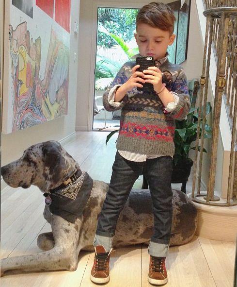Kid's stylin.