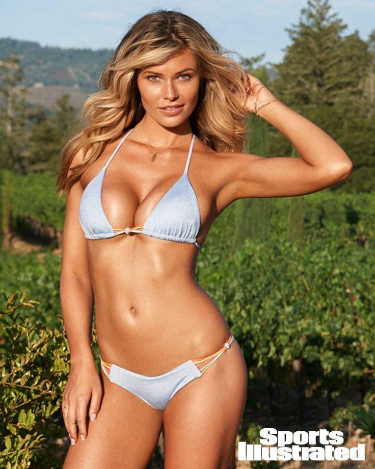 Samantha Hoopes in Beach Bunny 2015 Astropop Denim bikini ...