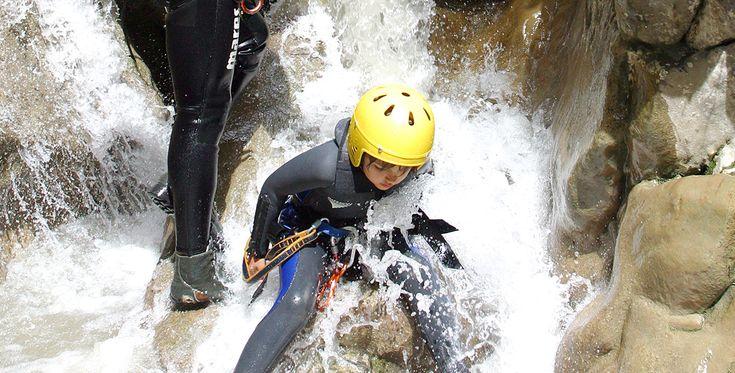Canyoning Tour in Bad Reichenhall in Bayern #Abenteuer #Natursportart #Schluchten