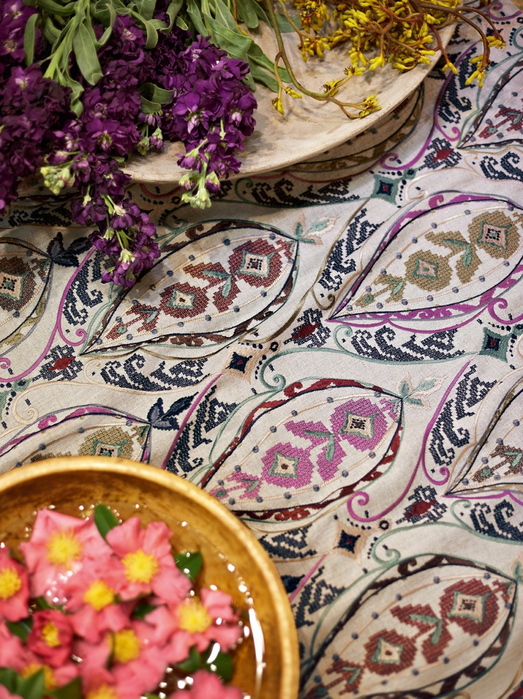 bohemian style ~Travers' new collection inspired by recent trip to India and Norman Parkinson's exhibit