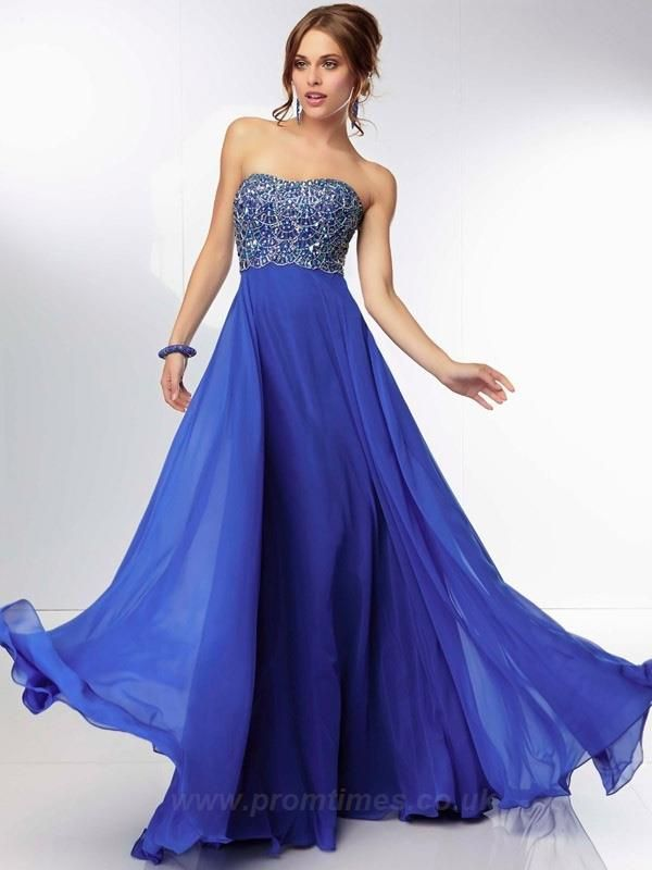 Strapless Sleeveless Floor-length Long Royal Blue Prom Dresses UK PD0886  Check out my post here http://kaiyoaino.blogspot.ro/2015/02/prom-dresses-whats-new-in-2015.html