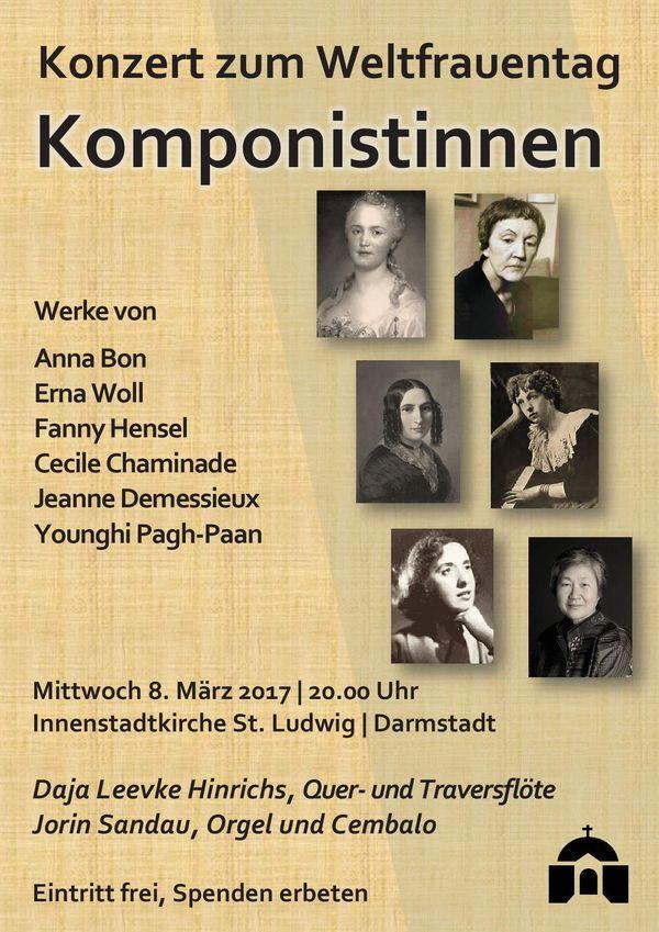 """Das Portal der Königin - Konzert """"Komponistinnen"""" in Darmstadt"""