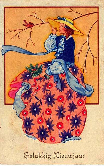 dutch new year celebrate the new year pinterest dutch vintage and illustrations