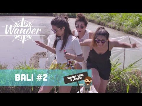 Zusjes Verbon #6: Ploeteren door een rijstveld - Wander Bali