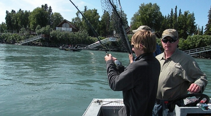 23 best all about salmon images on pinterest kenai for River fishing games