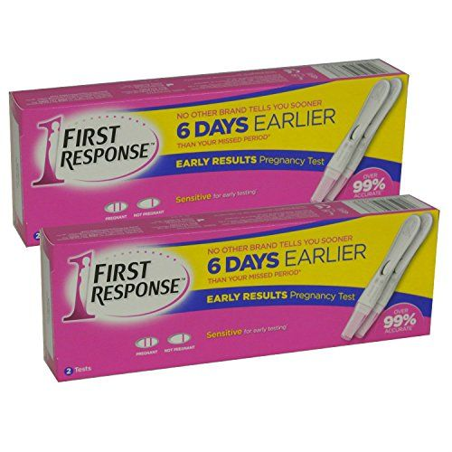 From 13.99:First Response One Step Test Pack Of Two 2 Pack Deal