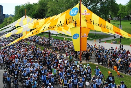 The Montreal Bike Fest
