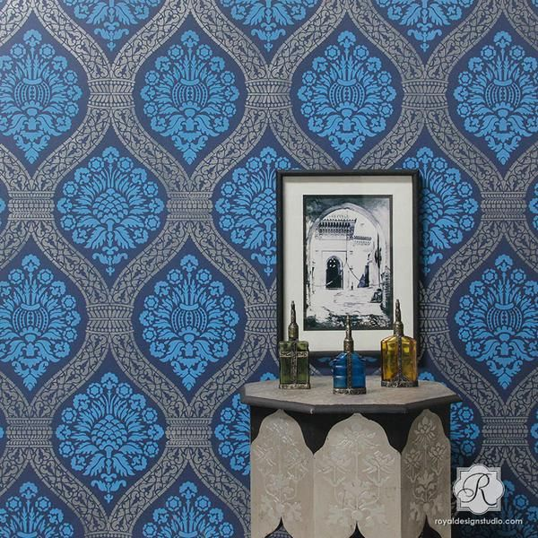 Non Traditional Wall Décor Ideas To Make A Bold Statement: 25+ Best Ideas About Metallic Wallpaper On Pinterest