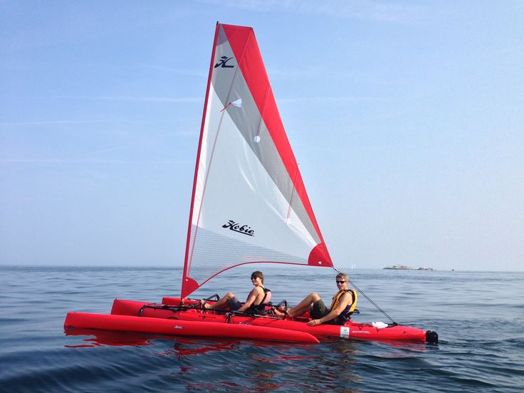 2016 Hobie Tandem Island for sale and rent at Little Harbor Boathouse, Marblehead.