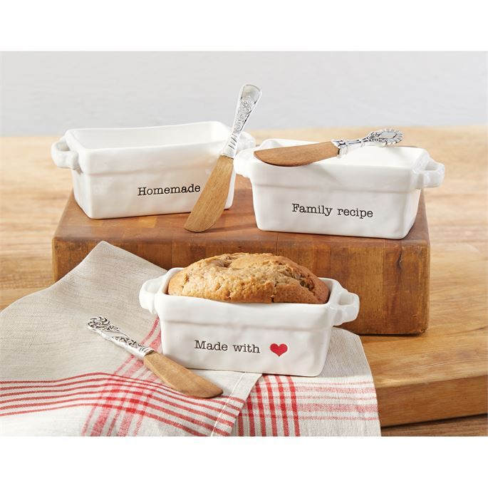 Circa Mini Loaf Set , Mudpie, Mud Pie